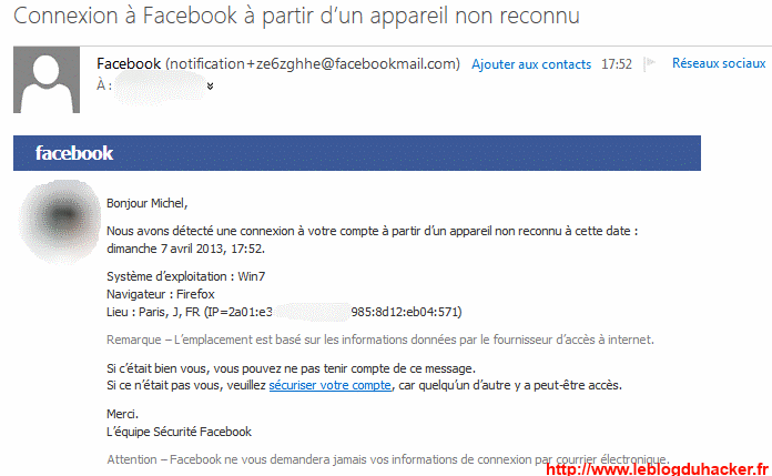 comment pirater message prive facebook