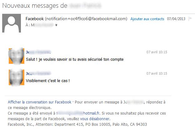 hacker un compte facebook avec l'email