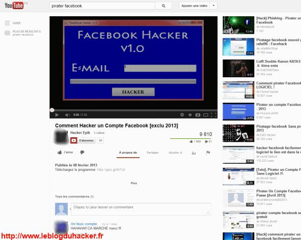 comment pister un hacker