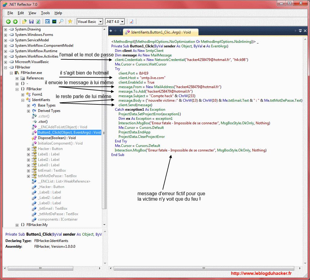 Pister un hacker