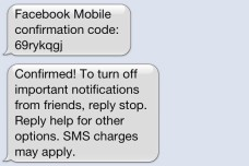 Pirater un compte Facebook avec un simple SMS ?