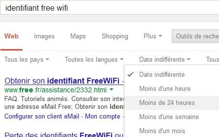 code wifi gratuit
