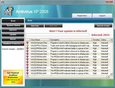 faux antivirus rogue
