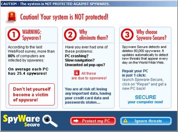 rogue faux antivirus