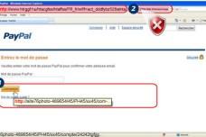 Ce faux site copie PayPal visuellement. Mais lorsque vous envoyez votre argent, il disparaît pour toujours. Acheter en sécurité sur internet demande donc d'abord de regarder l'URL et de s'assurer qu'on soit bien sur le site officiel.