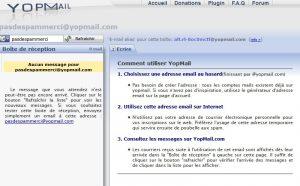 ne plus recevoir de pub par mail avec yopmail