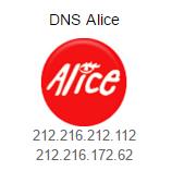 DNS ALICE