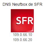 DNS SFR