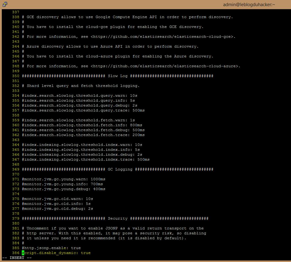 Installation 46 Fichier Elasticsearch.yml rectifié5