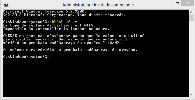 Image 35 Utilitaire Windows CHKDSK