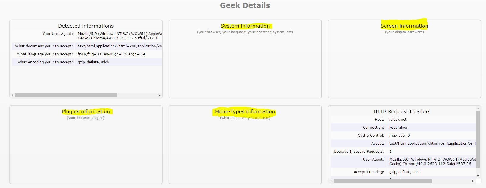 Image 50 Geek Details test IPLEAK