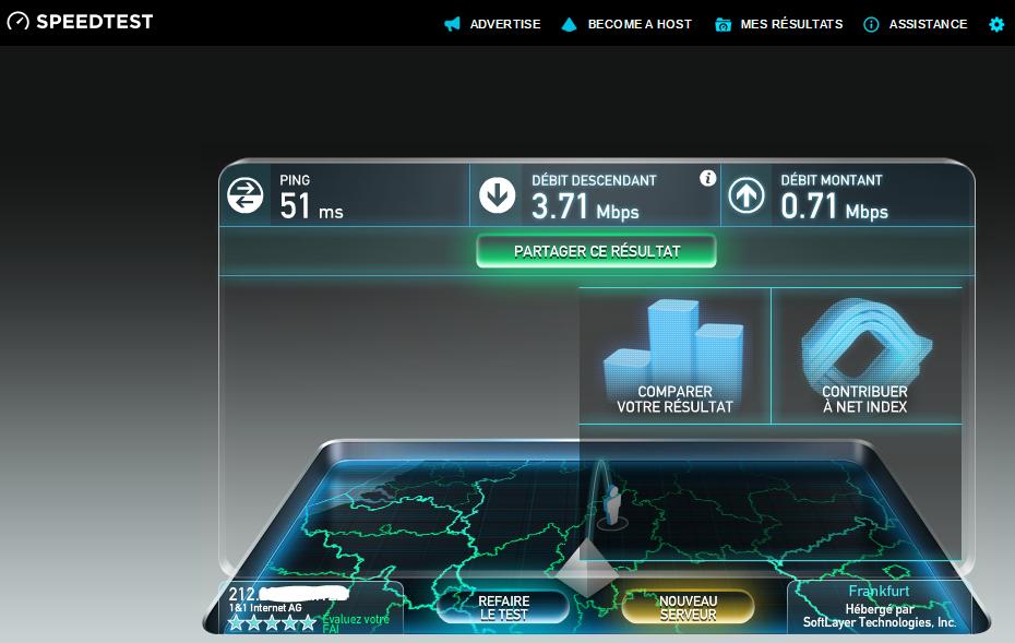 image 19 test débit VPN Germany steganos