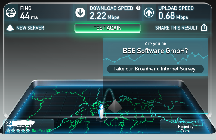 image 22 test débit VPN SUISSE steganos