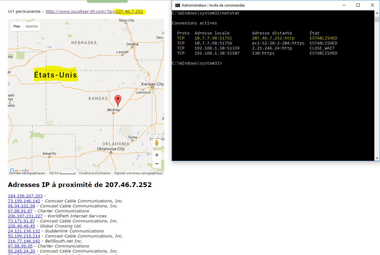 image 34 connexions actives lors de la connexion VPN NordVPN en Roumanie via UK
