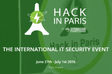 Hack in Paris – 27 JUIN AU 1ER JUILLET 2016