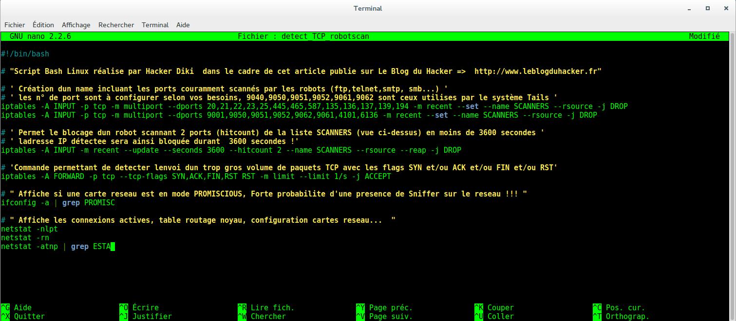 image 60 script detect robot et blocage IP