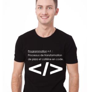 T-Shirt Programmation