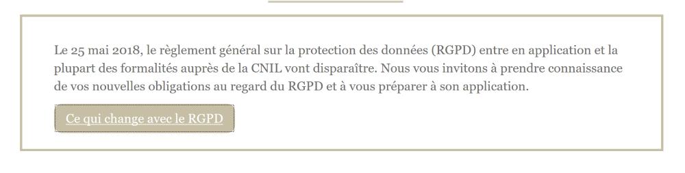 RGPD et CNIL