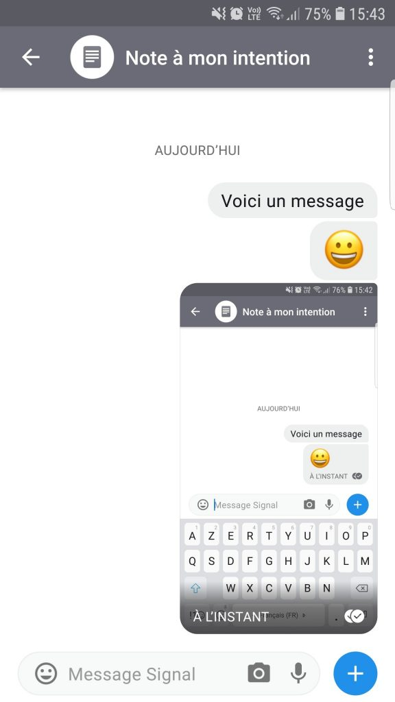 signal, une des alternatives à facebook messenger