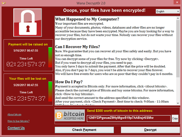 se faire pirater par une simple visite (ici ransomware)