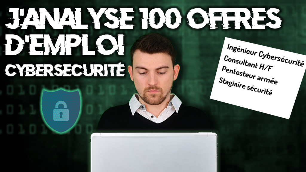 offre emploi cybersécurité
